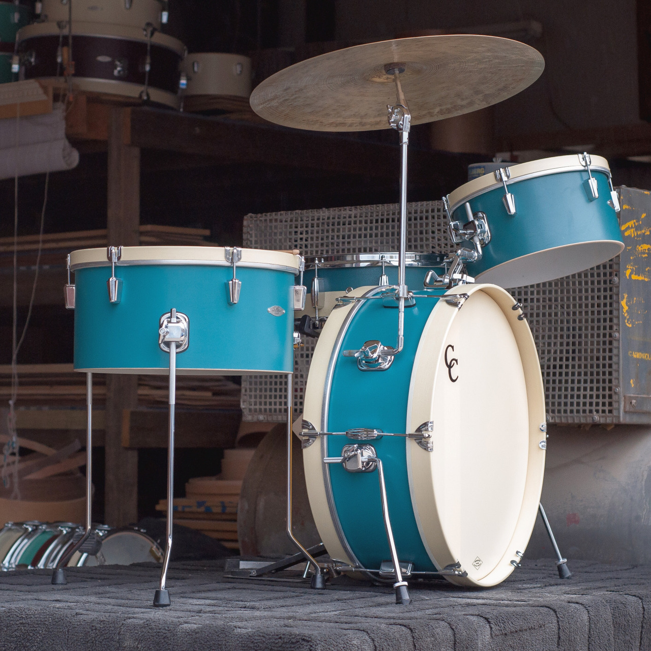 C&C Drums - Gladstone - Wood Hoops