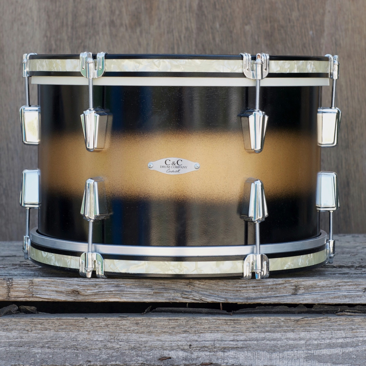 C&C Drums - 12th&Vine - Toms Wood Hoops