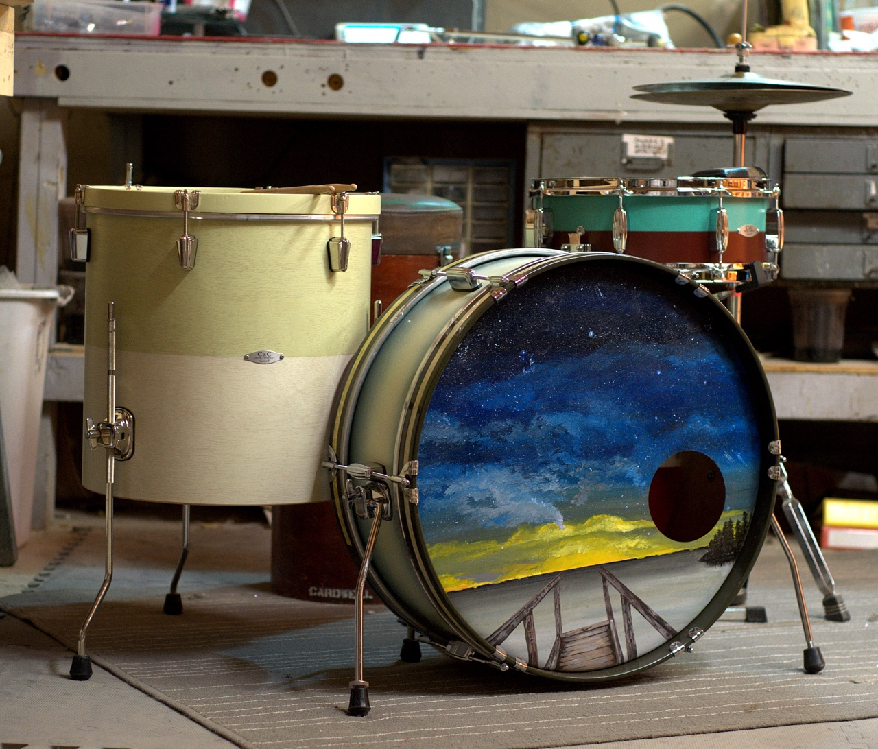 C&C Drums - Gladstone - Tom Mount