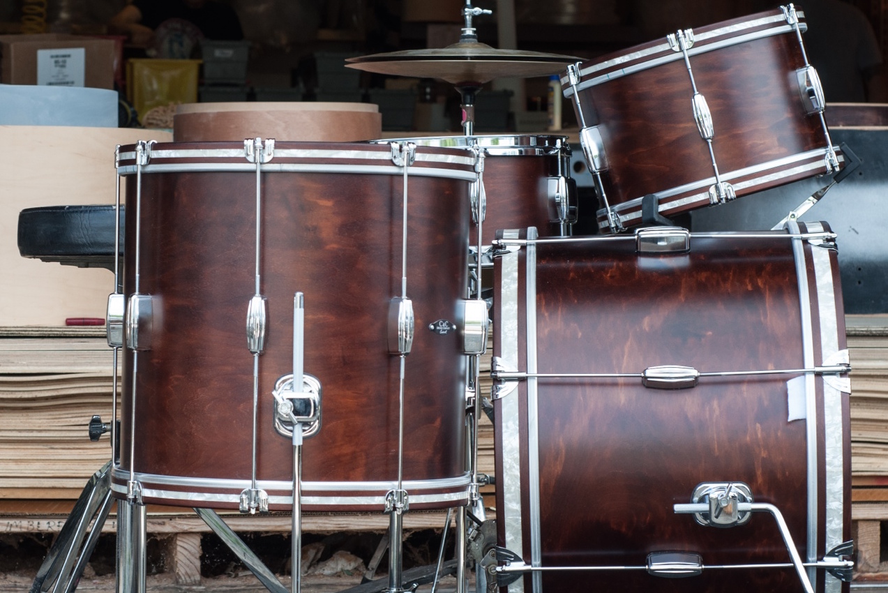C&C Drums - Player Date Europe - Wood Hoops