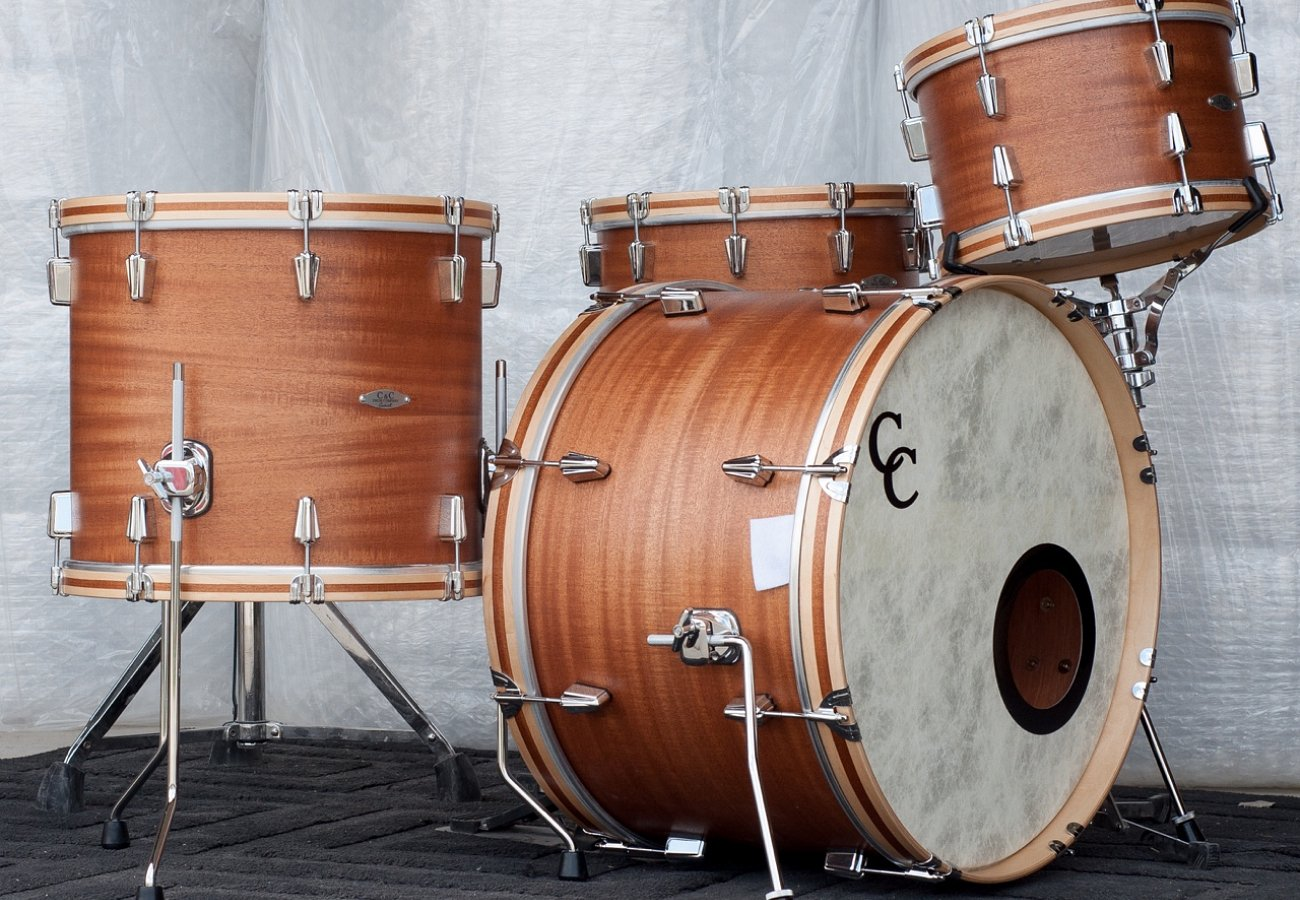 C&C Drums Europe - Vintage Inspired Drums - Custom Kit