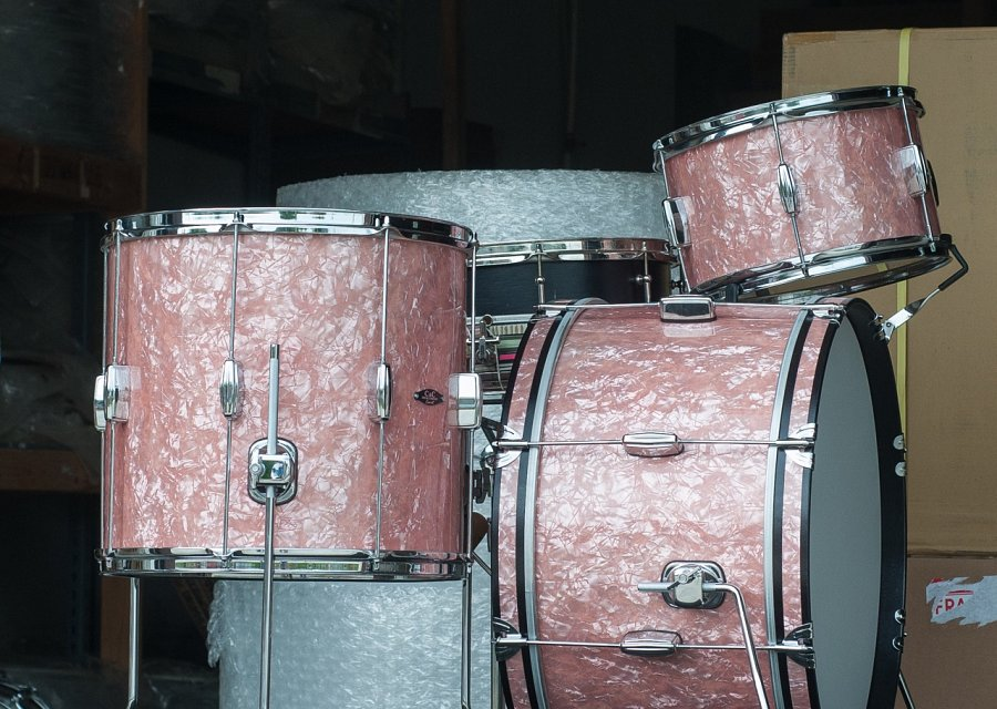 C&C Drums Europe - Vintage Drums - Custom Kit