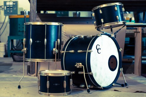C&C Drums Europe - Custom Kit - New Vintage Drums