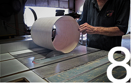 C&C Drums Europe - Gladstone Shells making process