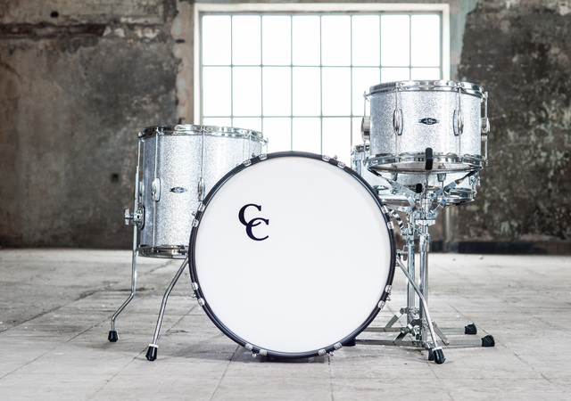 C&C Drums Europe - Player Date Be Bop - Silver Sparkle